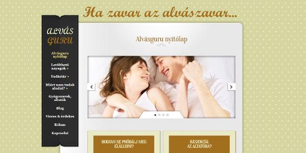 Responsive weboldal készítés és webdesign referencia