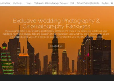 Art of Wedding Studios – responsive weboldal és SEO referencia