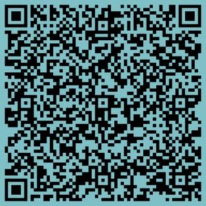 QR code Webfolio Webdesign elérhetőségek VCard formában