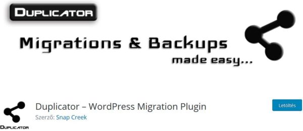 Duplicator-wordpress-biztonsagi-mentes-bovitmeny