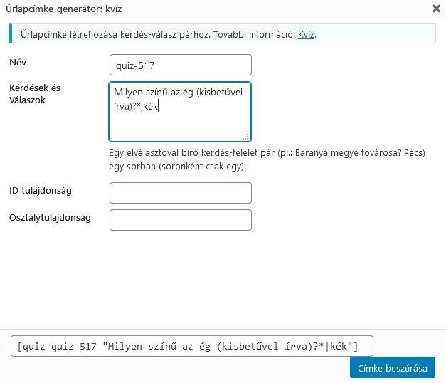 CF7 űrlap spam mentesítő mező